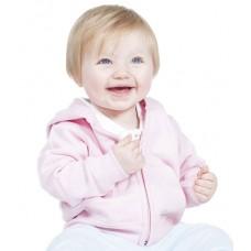 Personalised Sweatshirt lw05t Baby Zip Hooded Larkwood 280 gsm GSM Hoodie