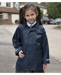 Personalised Jacket RS227B Kids Waterproof Over Result
