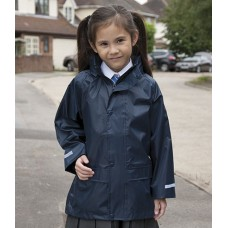 Personalised Jacket RS227B Kids Waterproof Over Result
