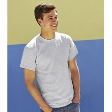 Personalised T-Shirt SA101 Heavy Cotton Fruit of the Loom White 185 gsm Cols 195 GSM