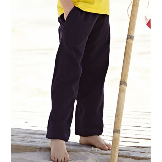 Personalised Jog Pants SS125B Kids Fruit of the Loom 240 gsm GSM