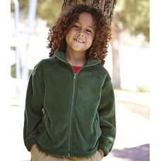 Personalised Jacket SS50B Kids Fleece Fruit of the Loom 300 GSM