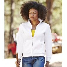 Personalised Sweat Jacket SS79 Lady Fit Fruit of the Loom 280 gsm GSM