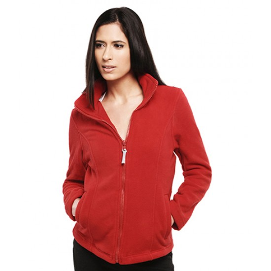 Personalised Fleece Jacket  UC607 Ladies Classic Full Zip Uneek 320 gsm GSM