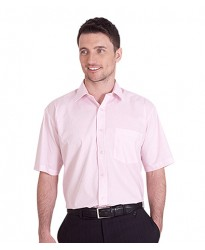 Personalised Half Sleeve Shirt UC710 Mens Poplin Uneek