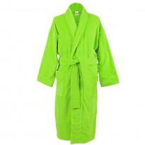 Lime green Terry Towel 100% Cotton Bathrobe