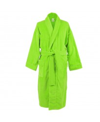 Lime green Terry Towel 100% Cotton Bathrobe