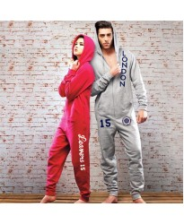 Personalised college & UNI lounge Onesies