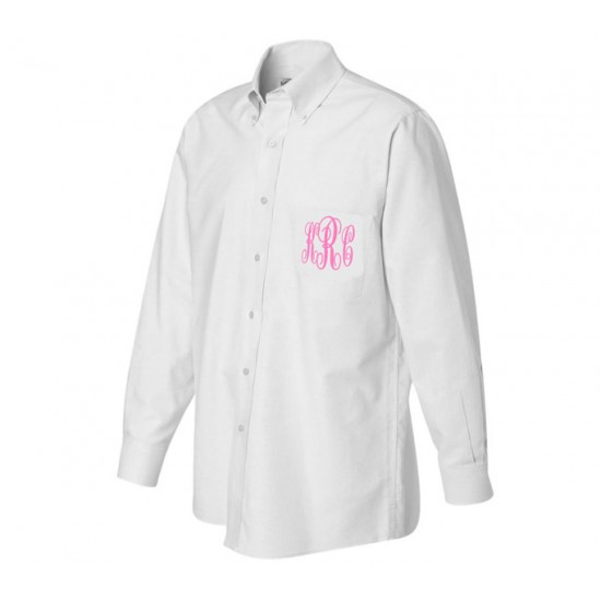 Monogrammed Oversized Bridesmaid Shirts - Premier