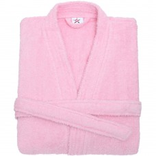 Terry Kimono Light Pink Bathrobe