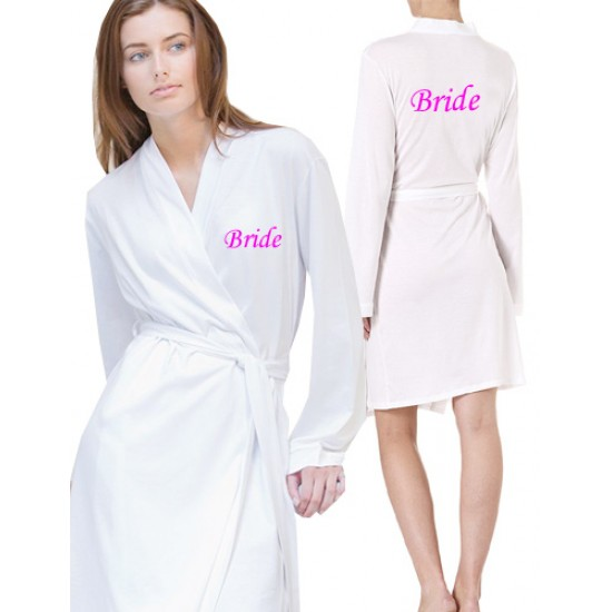 757219ec8e Front and back £10 printed Jersey lightweight robes