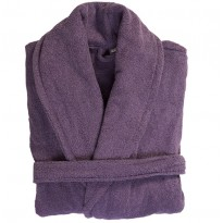 Terry Purple Bathrobe