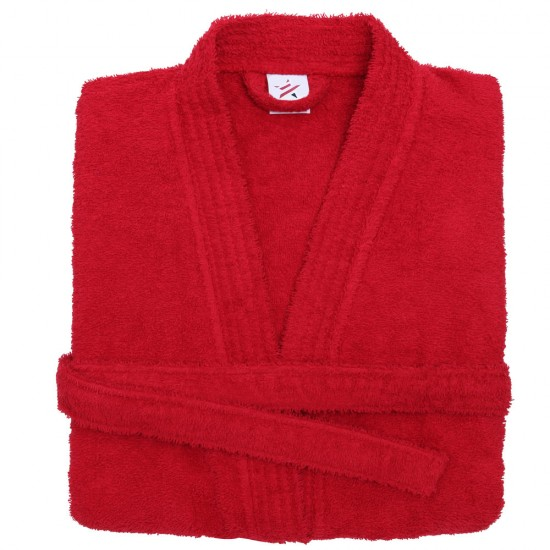 Terry Kimono Red Bathrobe