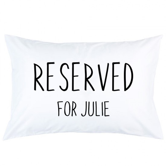 Personalized reserved for custom name printed pillowcase covers
