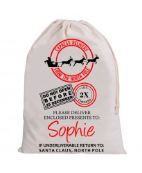 Personalised Santa Sack REINDEER Express