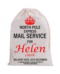 Personalised Santa Sack MAIL SERVICE