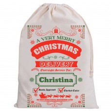 Personalised Santa Sack A very Merry Christmas
