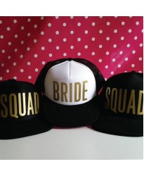 Personalised Custom text Bride & Squad Team