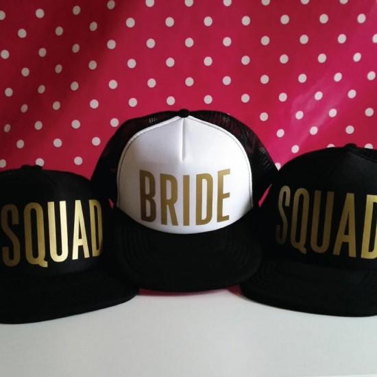 Personalised Custom text Bride & Squad Team