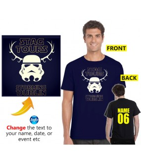 Cool storm Trooper Customised Stag T shirt