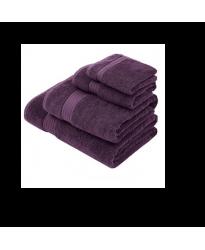 Towel City Bath Sheet Plum Towel