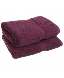 Large Bath Size Purple Towel 100 x 150 cm