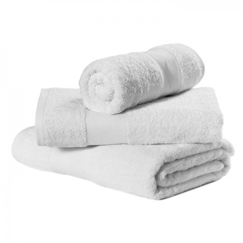 Large Bath Sheet Size 100 X 150 Cm White Towels