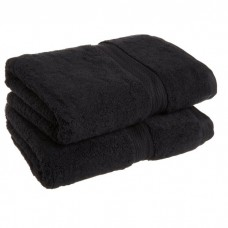 Towel City Hand Size Black Towel