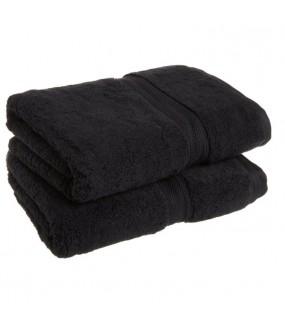 Towel City Hand Size Black Towel