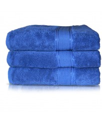 Towel City Bath Sheet Bright Blue Towel