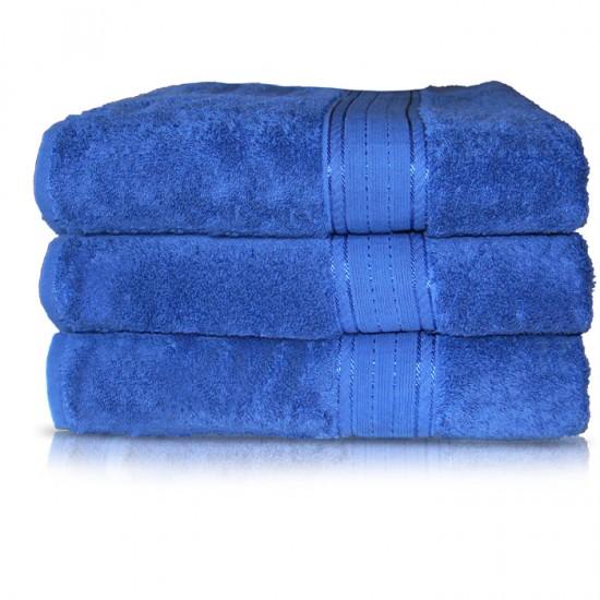 Towel City Bath Sheet Bright Blue Towel