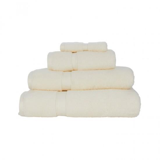Large Bath Size Cream Towel 100x150 cm