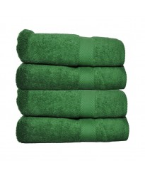 Towel City Hand Size Forest Green Towel