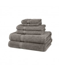 Towel City Hand Size Grey Towel