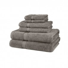 Large Bath Size Grey Towel 100 x 150 cm