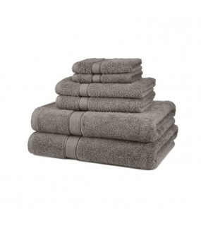 Large Bath Size Grey Towel 100 x 150 cm