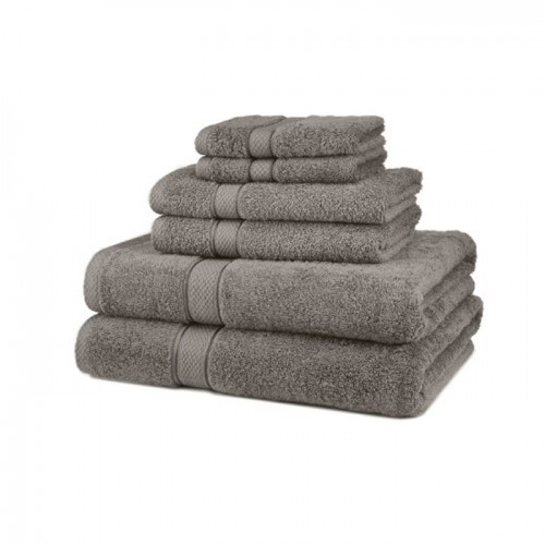 Large Bath Sheet Size 100 X 150 Cm Grey Towels