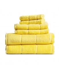 Towel City Hand Size Lemon Towel