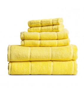 Towel City Hand Size Lemon Towel