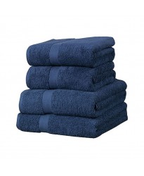 Towel City Bath Sheet Navy Towel