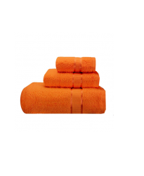 Towel City Bath Sheet Orange Towel