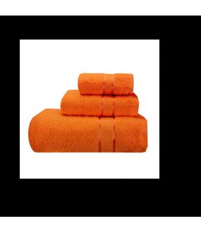 Towel City Bath Sheet Orange Towel