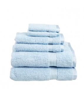 Towel City Bath Sheet Podwer Blue Towel