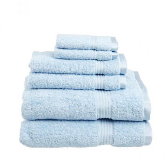 Towel City Bath Sheet Podwer Blue Towel