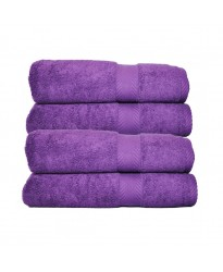 Towel City Bath Sheet Purple Towel