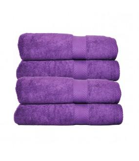 Towel City Bath Sheet Purple Towel