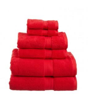 Towel City Bath Sheet Red Towel