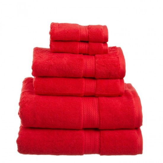 Towel City Bath Sheet Red Towel