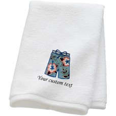 Personalised Groom Shorts Towels with custom text