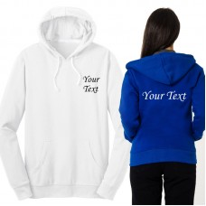 Personalised unisex fit pullover Wedding Hoodie